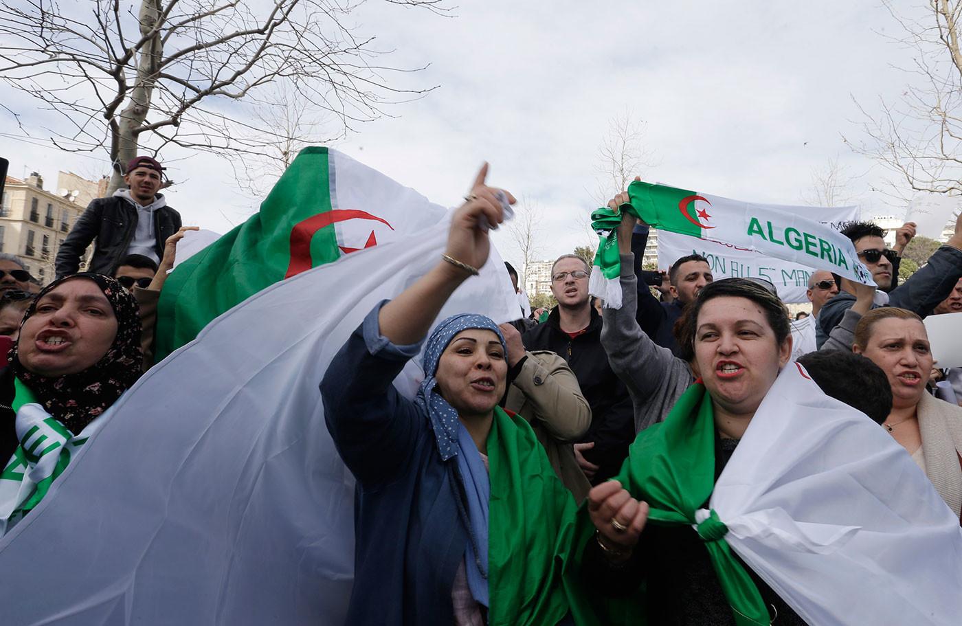 Фото: © AP Photo/Sidali Djarboub