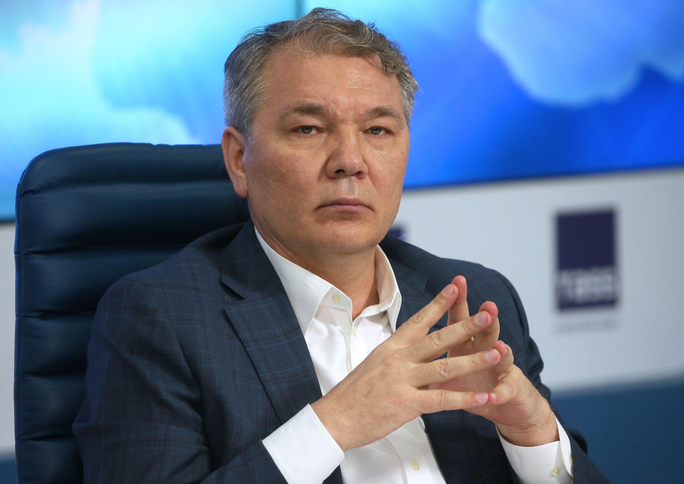 <p>Депутат Госдумы Леонид Калашников. Фото © ТАСС / Дмитрий Серебряков</p>