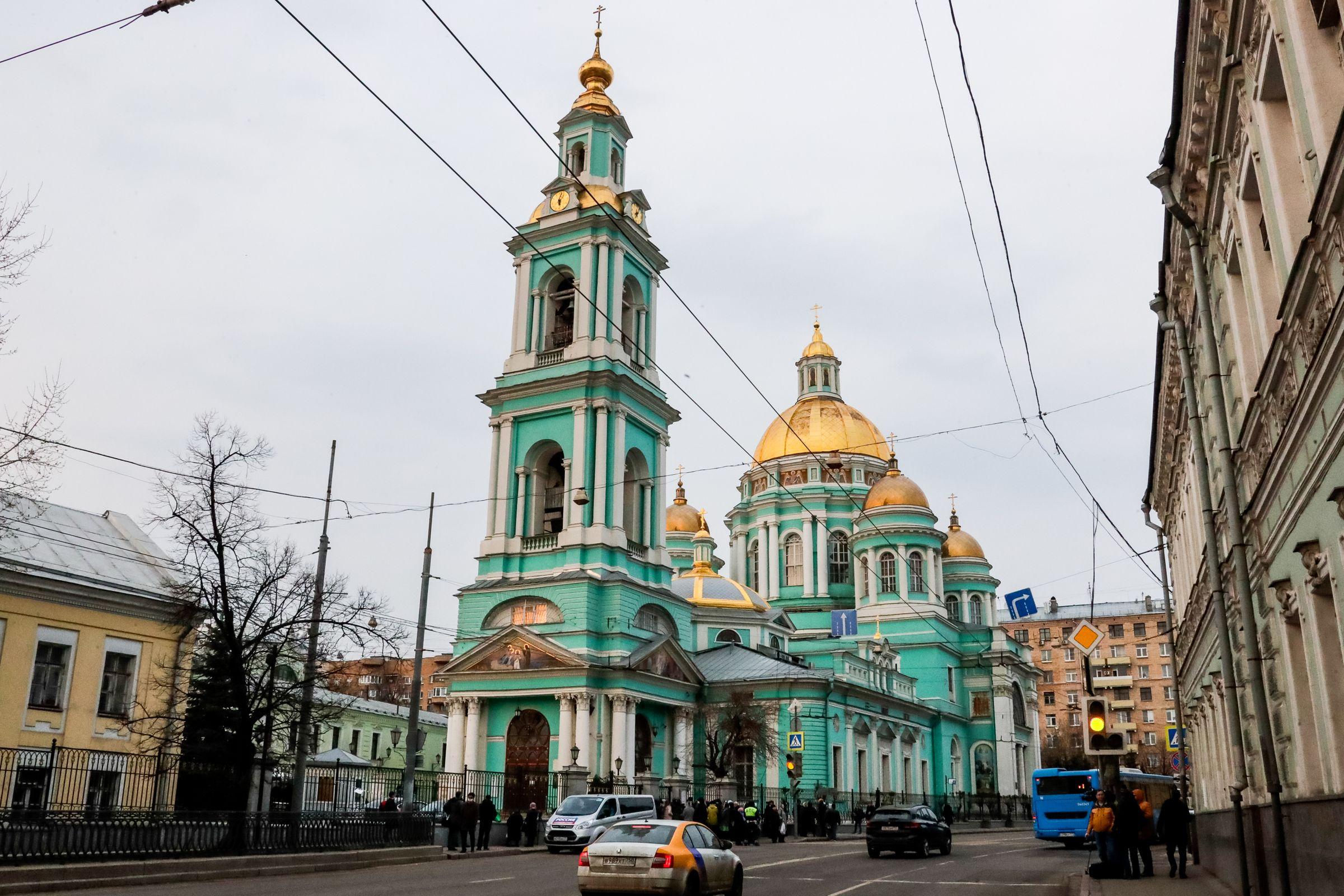 <p>Елоховский собор. Фото © Михаил Метцель / ТАСС</p>