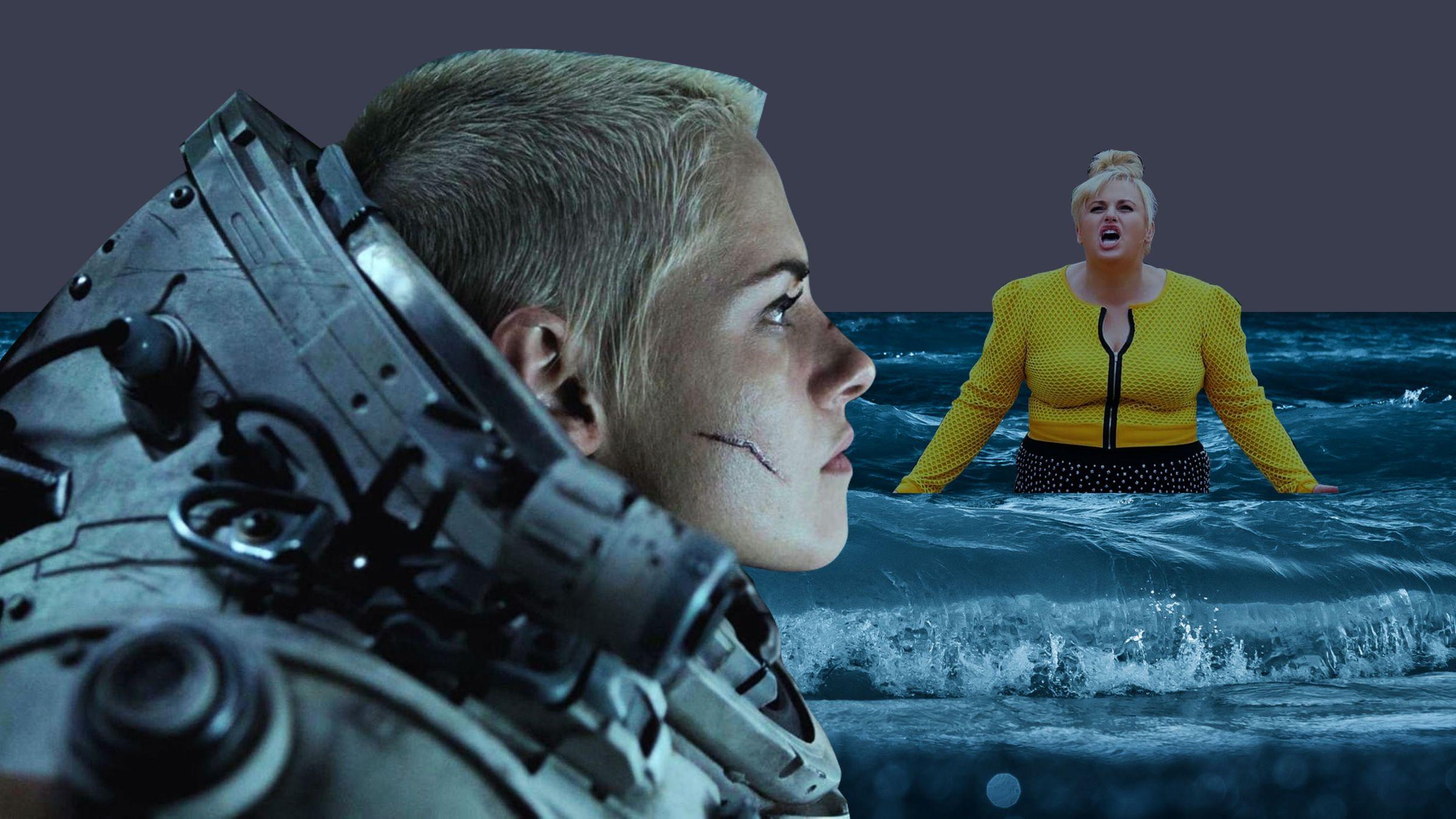 """<p>Фото © Постеры к фильмам """"Под водой"""", """"Ну разве не романтично?""""</p>"""