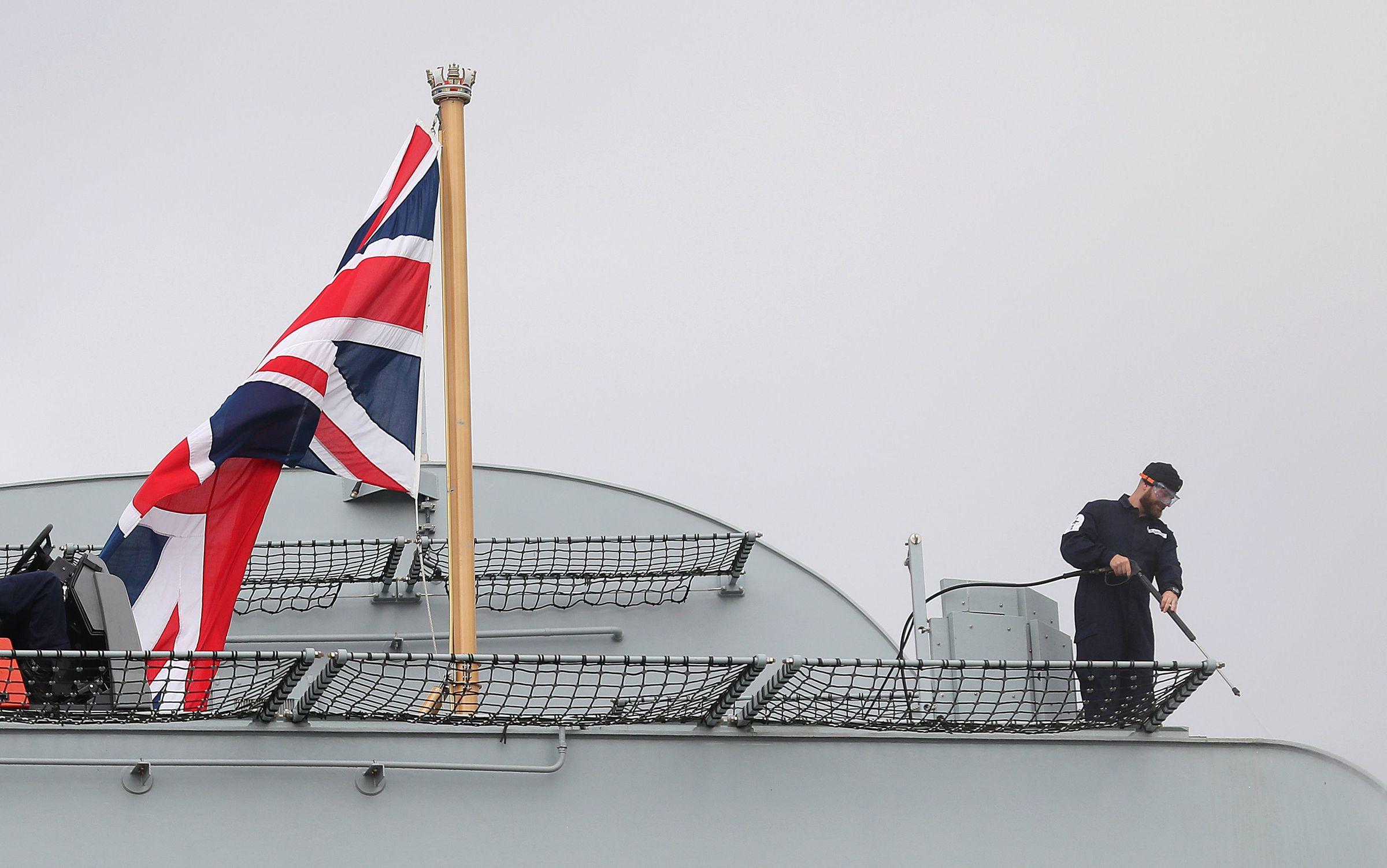 "<p>Авианосец ""Королева Елизавета"" ВМС Великобритании. Фото © PA Wire / PA Images</p>"