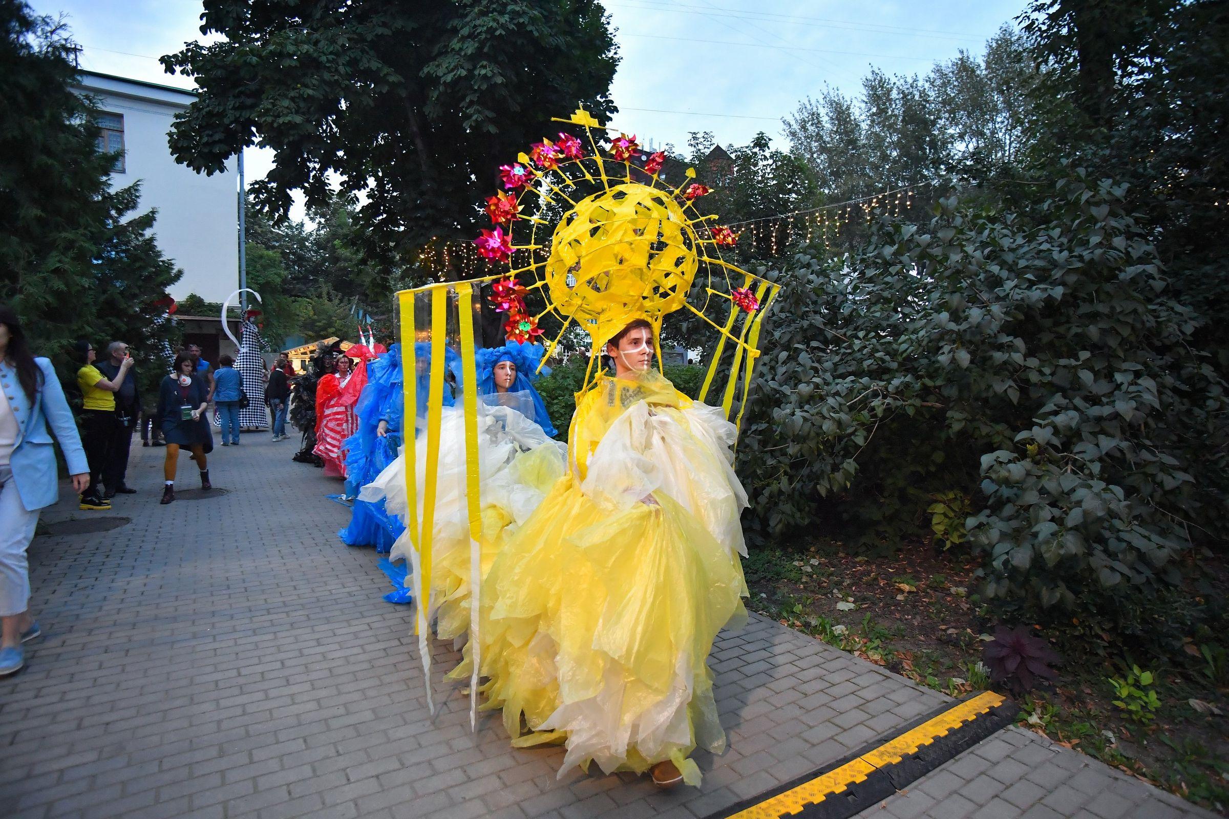 "<p>Фестиваль ""Все в сад!"". Фото © Агентство ""Москва"" / Сергей Киселев</p>"