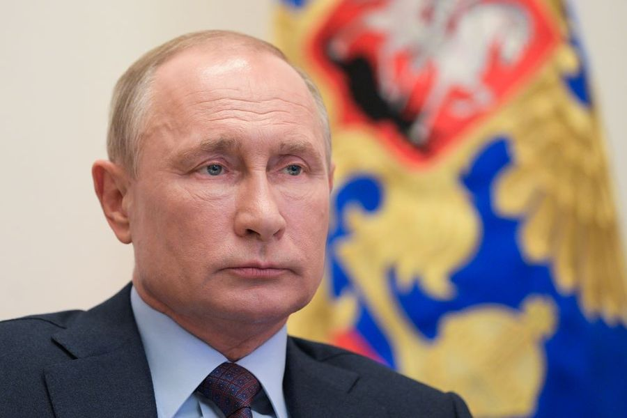<p>Фото © ТАСС / Пресс-служба Президента РФ / Алексей Дружинин</p>