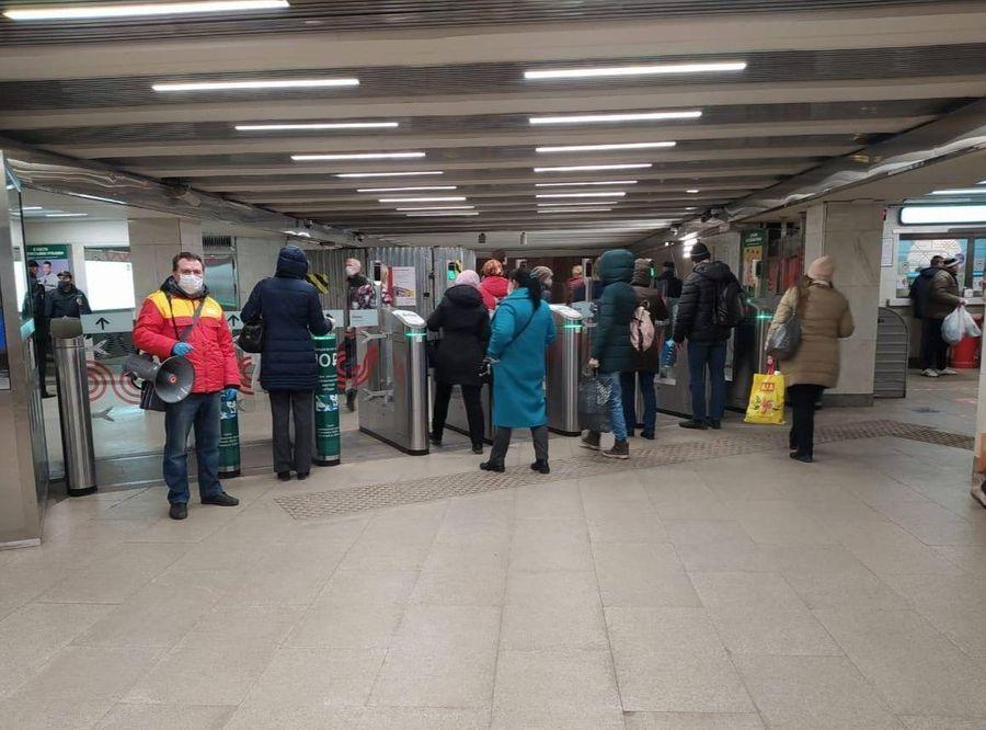"<p>Станция метро ""Царицыно"". Фото ©<a href=""https://t.me/DtRoad"" target=""_blank"" rel=""noopener noreferrer""> Пресс-служба Департамента транспорта Москвы</a></p>"