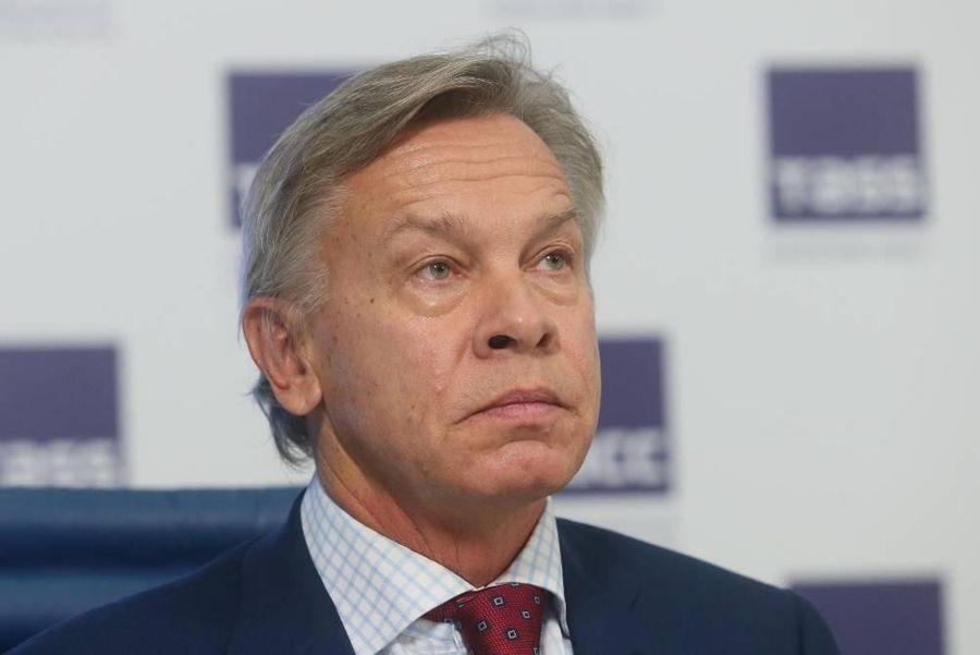<p>Алексей Пушков. Фото © ТАСС / Андрей Махонин</p>
