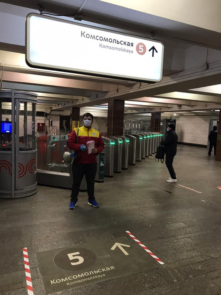 """Станция метро """"Комсомольская"""". Фото © Пресс-служба Департамента транспорта Москвы"""