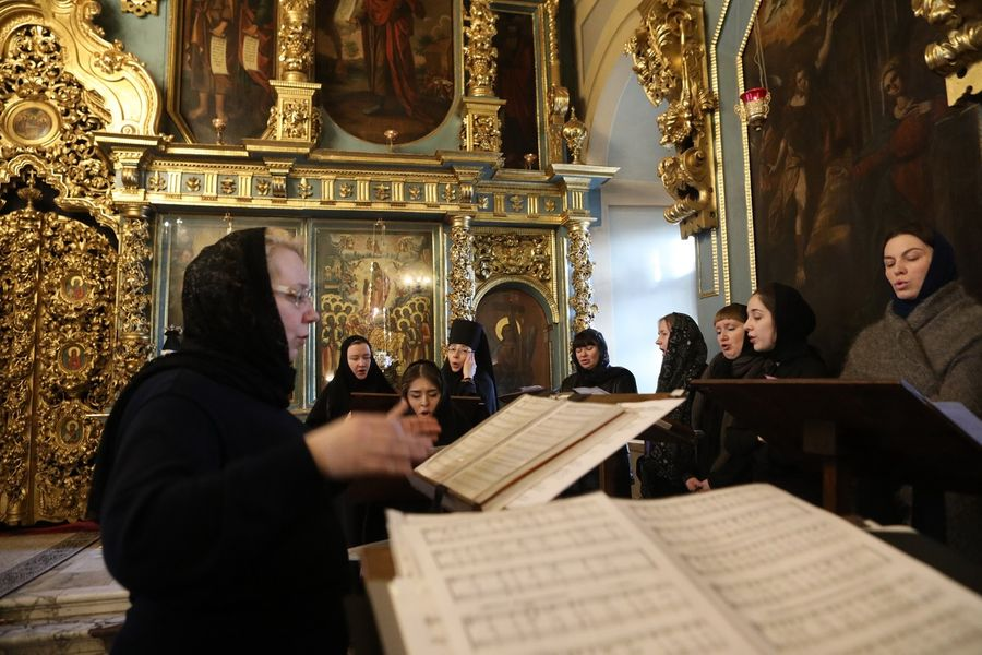 <p>Фото © Московская епархия РПЦ</p>