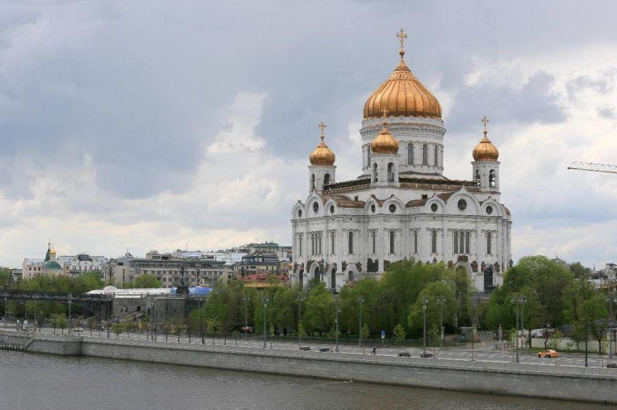 <p>Храм Христа Спасителя в Москве. Фото © ТАСС / Василий Кузьмиченок</p>
