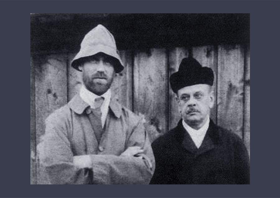 Михаил Романов и Николай Джонсон. Фото © Wikiwand.com