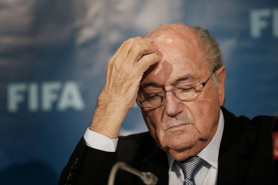 <p>Бывший президент ФИФА Йозеф Блаттер. Фото © ТАСС / AP Photo / Christophe Ena</p>