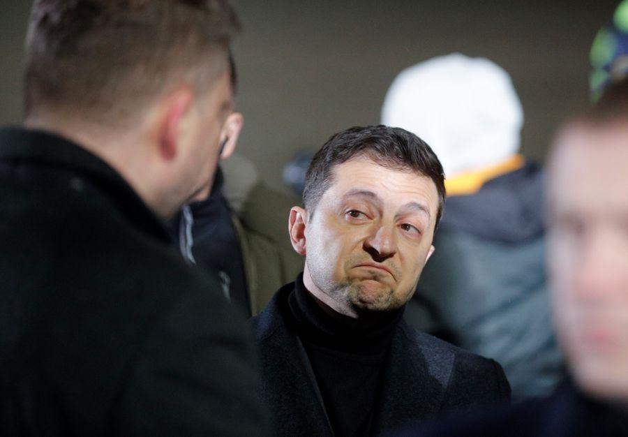 <p>Президент Украины Владимир Зеленский. Фото © ТАСС / SERGEY DOLZHENKO</p>