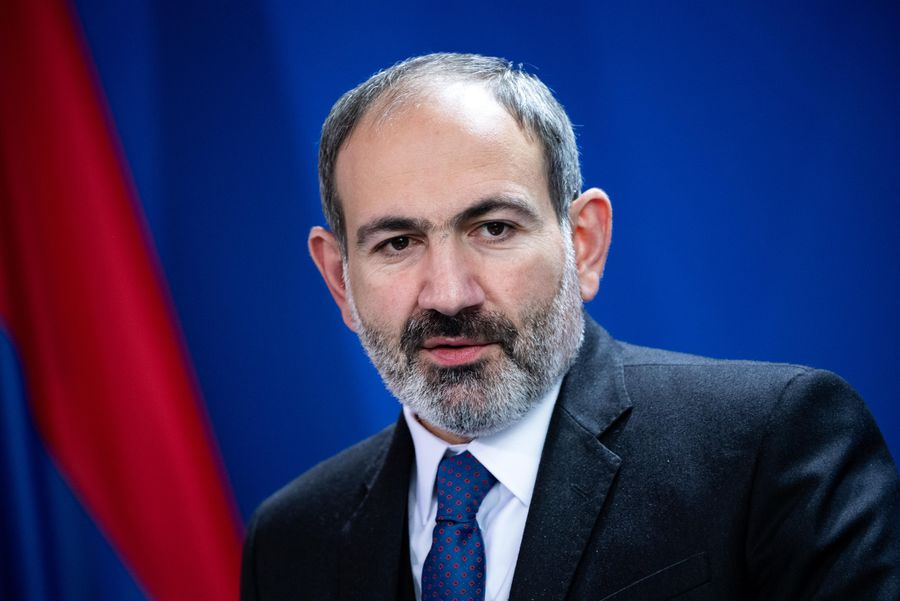 <p>Премьер-министр Армении Никол Пашинян. Фото © ТАСС / DPA / Bernd von Jutrczenka</p>