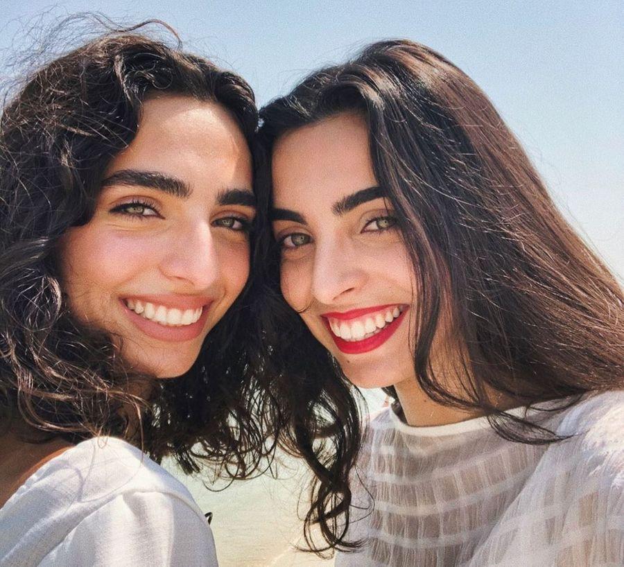 Слева — Лана Аль Бейк, справа — Бьянка Михай. Фото © Instagram / biubire