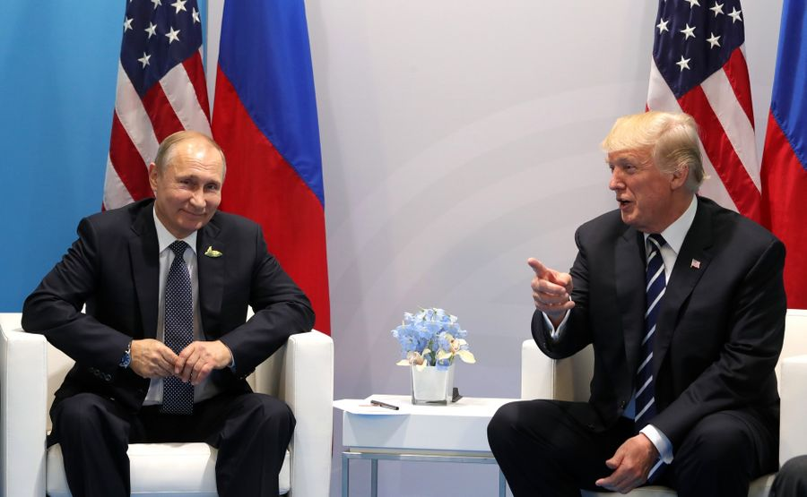 <p>Президент России Владимир Путин и президент США Дональд Трамп. Фото © Kremlin.ru</p>