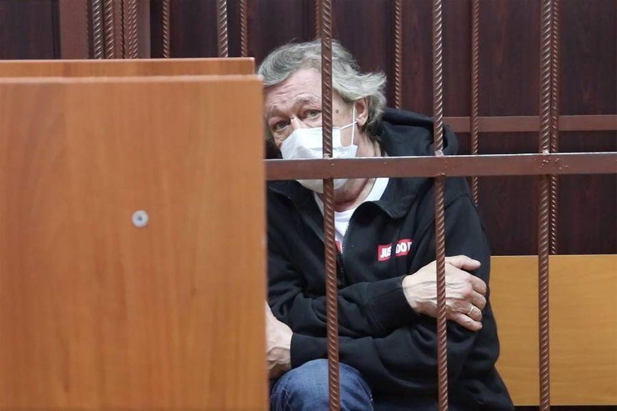 <p>Михаил Ефремов. Фото © ТАСС / Пресс-служба Таганского суда</p>
