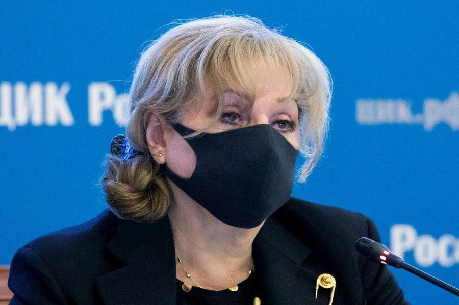 <p>Председатель ЦИК Элла Памфилова. Фото © ТАСС / Пресс-служба ЦИК России</p>