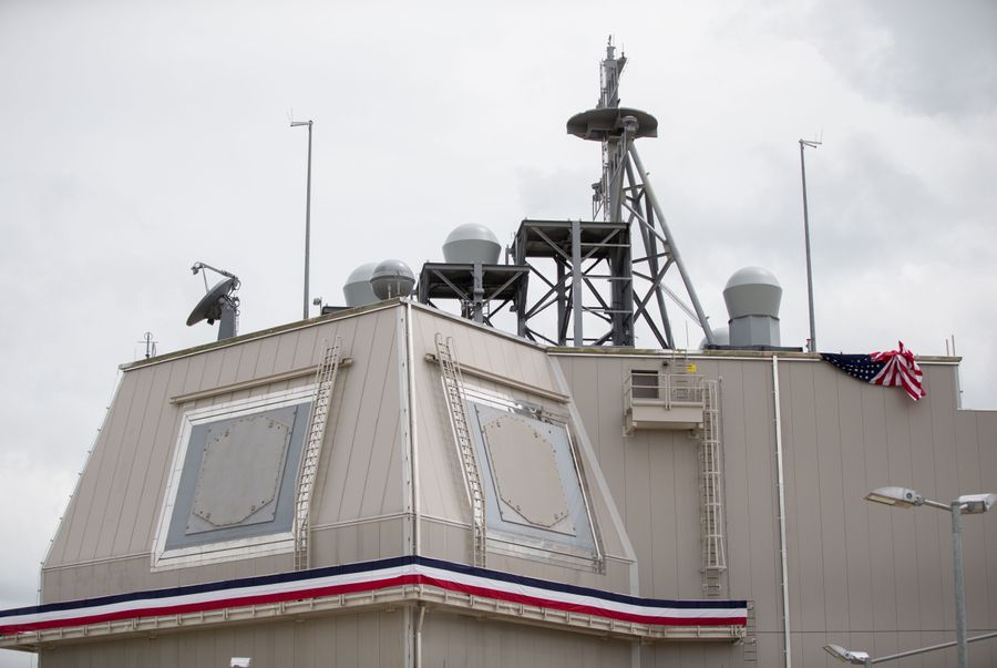 <p>Комплекс ПРО на базе НАТО в Румынии. Фото © ТАСС / KAYNIETFELD / dpa</p>