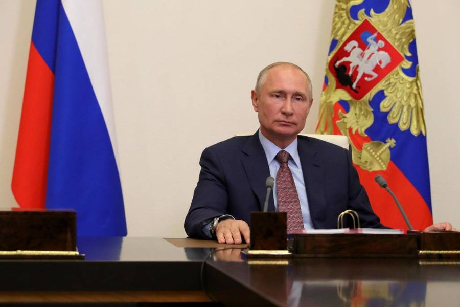 <p>Фото © ТАСС / Пресс-служба президента РФ / Михаил Клементьев</p>