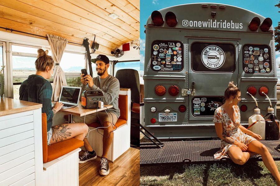Фото © Instagram / One Wild Ride Bus