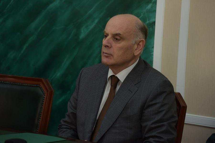 <p>Президент Абхазии Аслан Бжания. Фото © Администрация Президента Республики Абхазия</p>