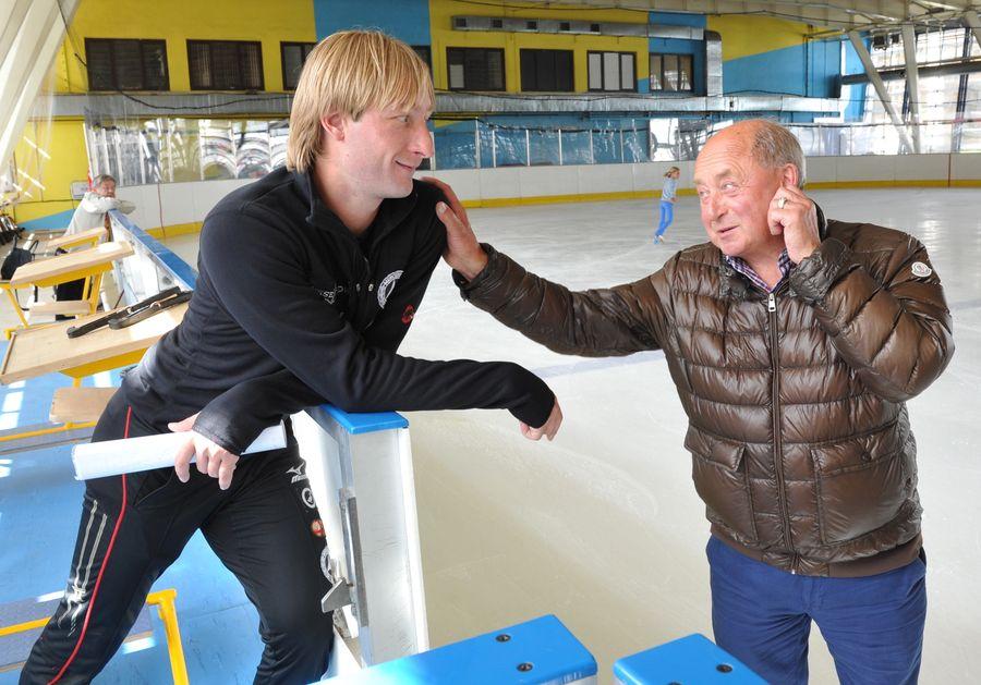 Плющенко и Мишин в 2014 году. Фото © ИТАР-ТАСС / Юрий Белинский