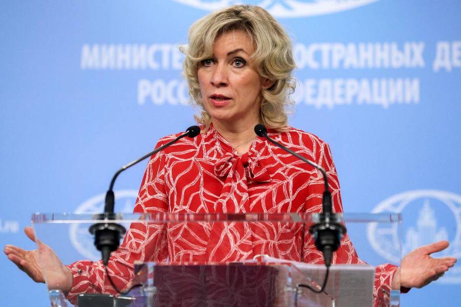 <p>Официальный представитель МИД Мария Захарова. Фото © ТАСС / Александр Щербак</p>