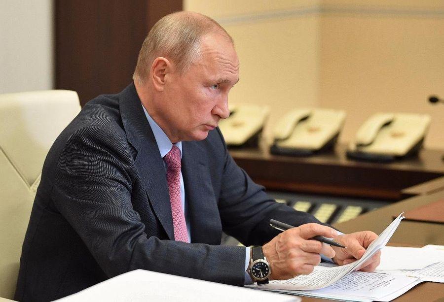 <p>Фото © ТАСС / Алексей Никольский / Пресс-служба Президента РФ</p>