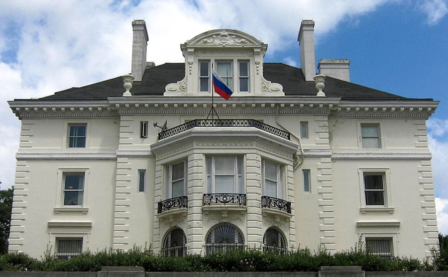 <p>Торговоепредставительство РФв Вашингтоне. Фото © Wikimedia Commons</p>