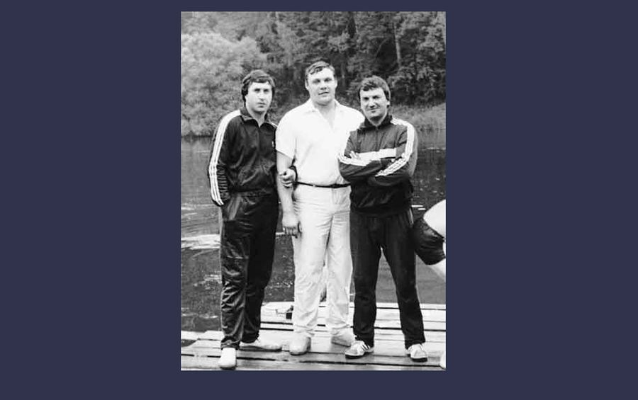 Редкое фото — Лалакин и Иванюженков вместе. Фото © VK / Исчезнувшая история