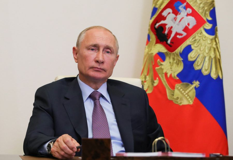 <p>Президент России Владимир Путин. Фото © ТАСС / Михаил Климентьев</p>