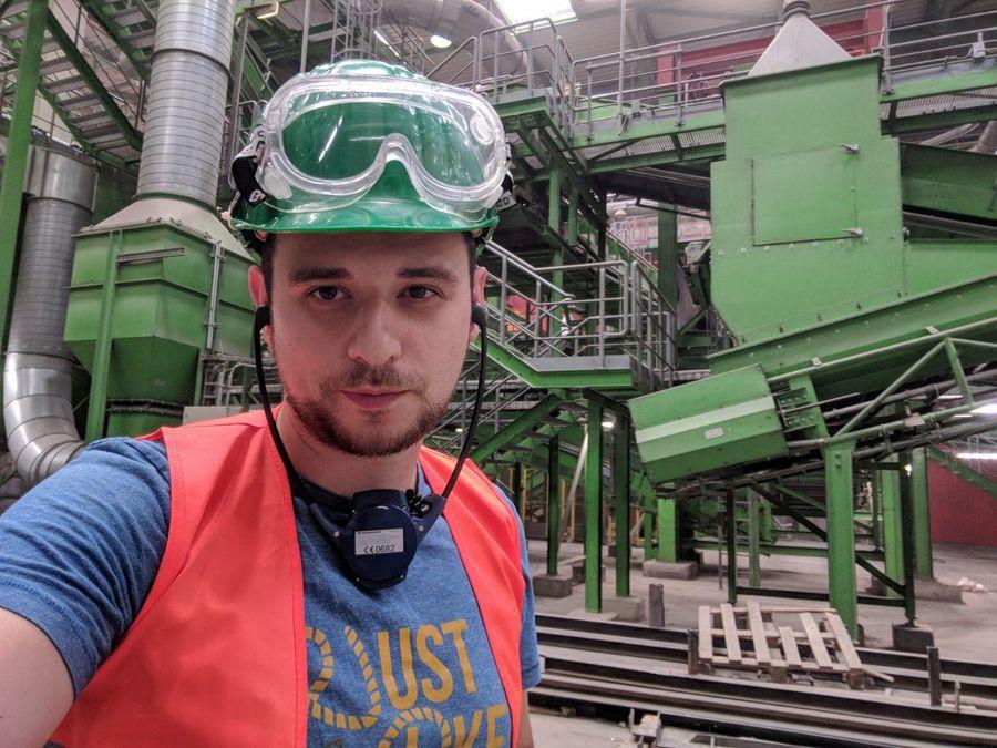 Эколог Георгий Каваносян. Фото © VK / Георгий Каваносян