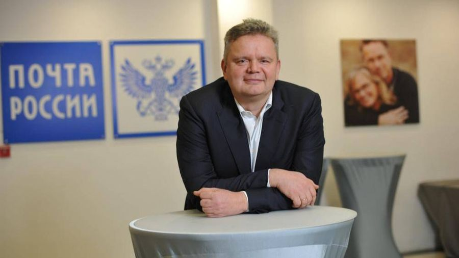 Топ-менеджер Почты России Сергей Емельченков. Фото © cnews