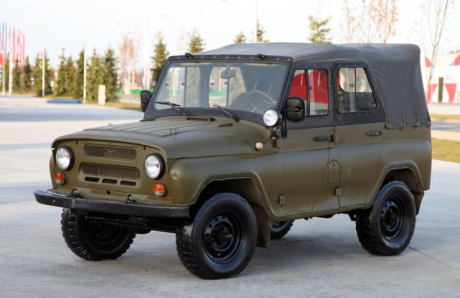 УАЗ-469. Фото © Wikipedia