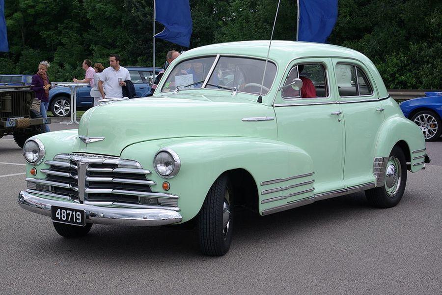 Американский Chevrolet Fleetline. Фото © Wikipedia