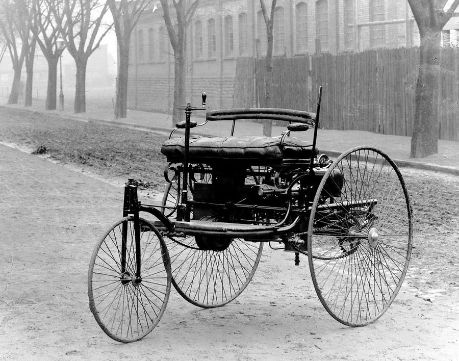 Первый автомобиль Карла Бенца. Фото © Public Domain