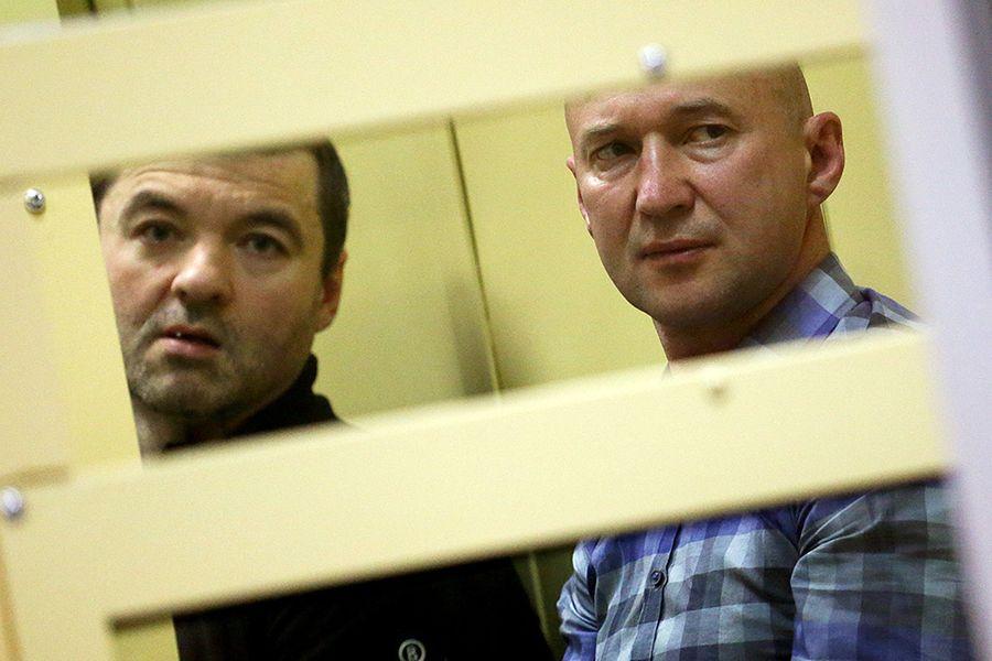 Лидеры ореховской преступной группировки Дмитрий Белкин (слева) и Олег Пронин, осуждённые за многочисленные убийства.  Фото ©Test.gazeta.ru
