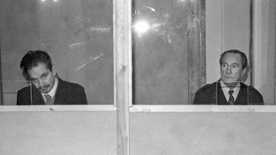 Одесса. Бывшие капитаны В.Марков (справа) и В.Ткаченко. Фото ©ТАСС / Малышев Николай. Павленко Илья