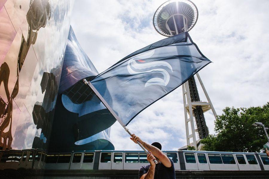 Фото © Twitter / Seattle Kraken