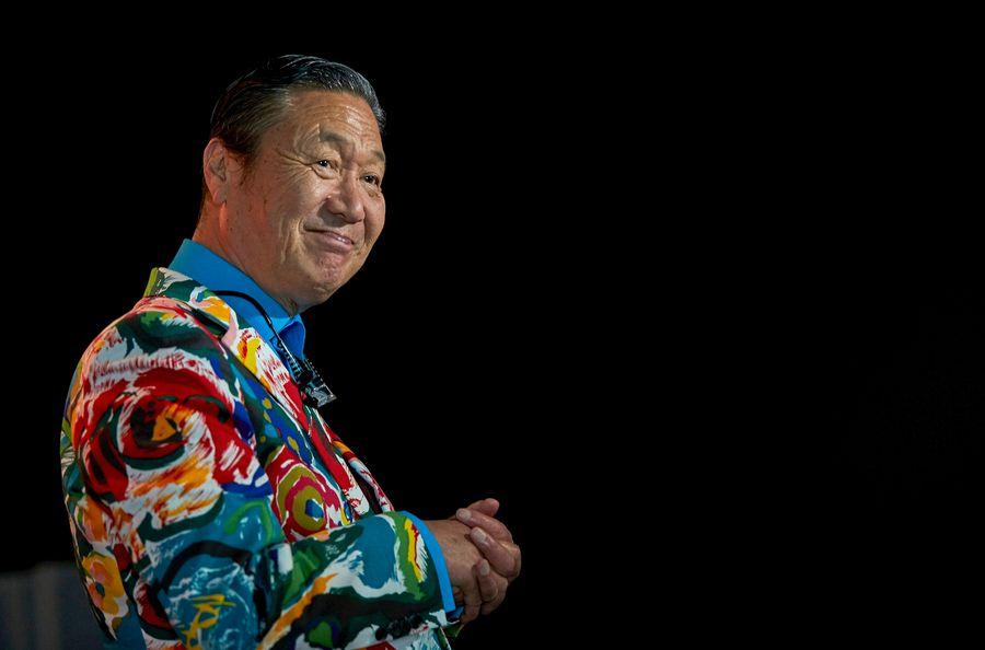 <p>Дизайнер Кансай Ямамото. Фото © EPA / TASS</p>