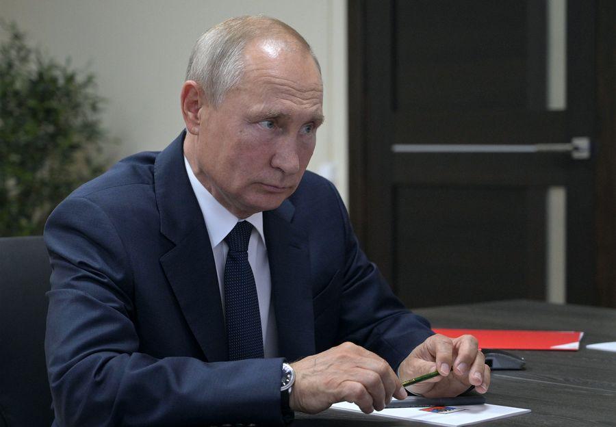 <p>Президент России Владимир Путин. Фото © Алексей Дружинин / ТАСС</p>