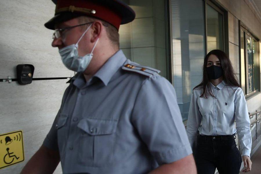 <p>Мария Хачатурян. Фото © ТАСС / Сергей Фадеичев</p>