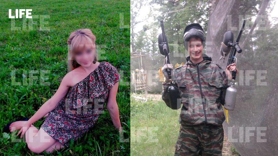 Погибшая Оксана и её супруг Александр. Фото © Соцсети