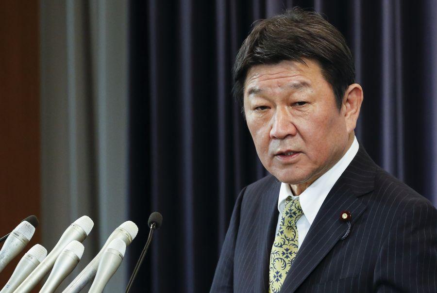 <p>Министр иностранных дел Японии Тосимицу Мотэги. Фото © Zuma / TASS</p>