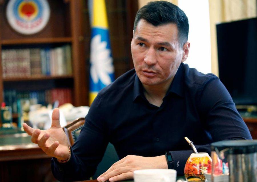<p>Глава Республики Калмыкия Бату Хасиков. Фото © ТАСС / Валерий Матыцин</p>