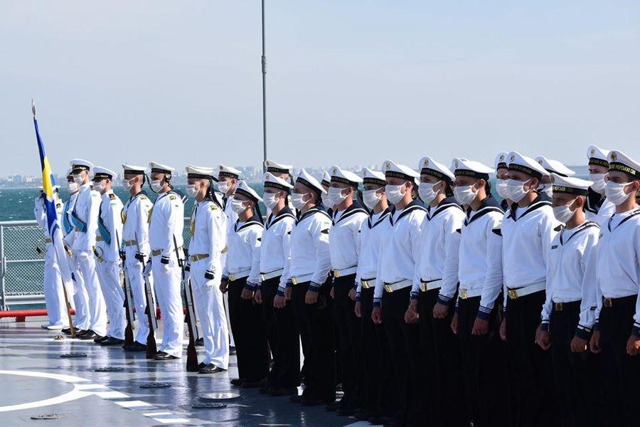 """<p>Фото © Facebook / <a href=""""https://www.facebook.com/navy.mil.gov.ua/?tn-str=k*F"""" target=""""_blank"""" rel=""""noopener noreferrer"""">ВМС ЗС України</a></p>"""