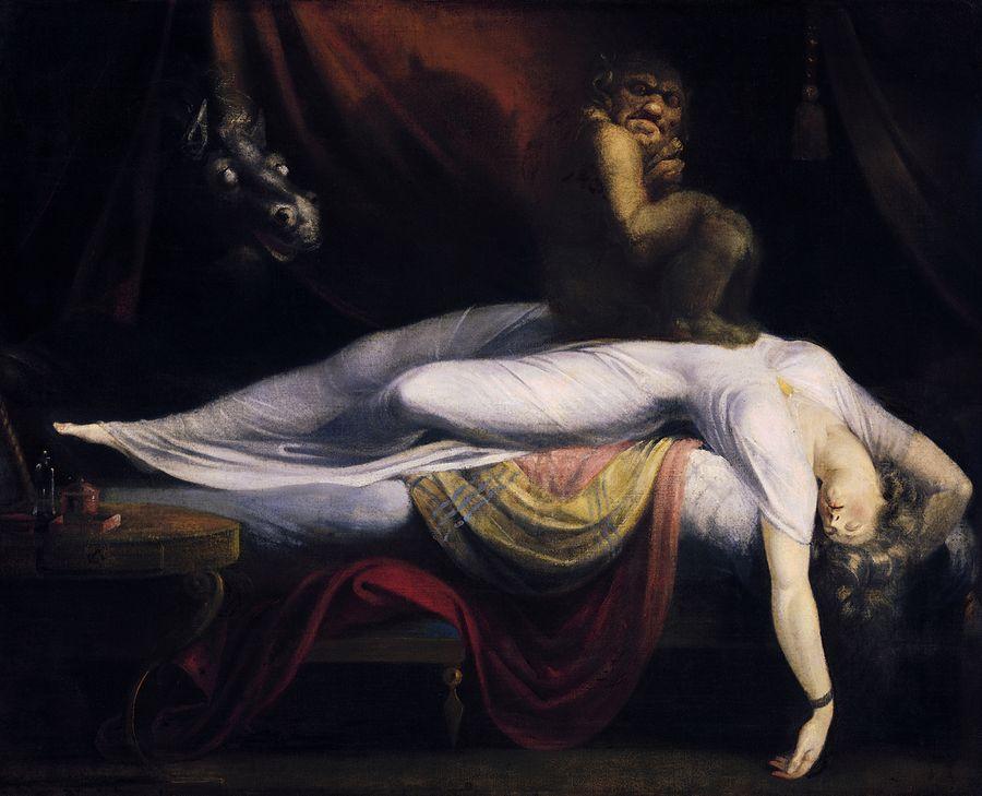 "Иоганн Генрих Фюссли, ""Кошмар"" (1781 год). Изображение © Wikimedia Commons / Wartburg College"