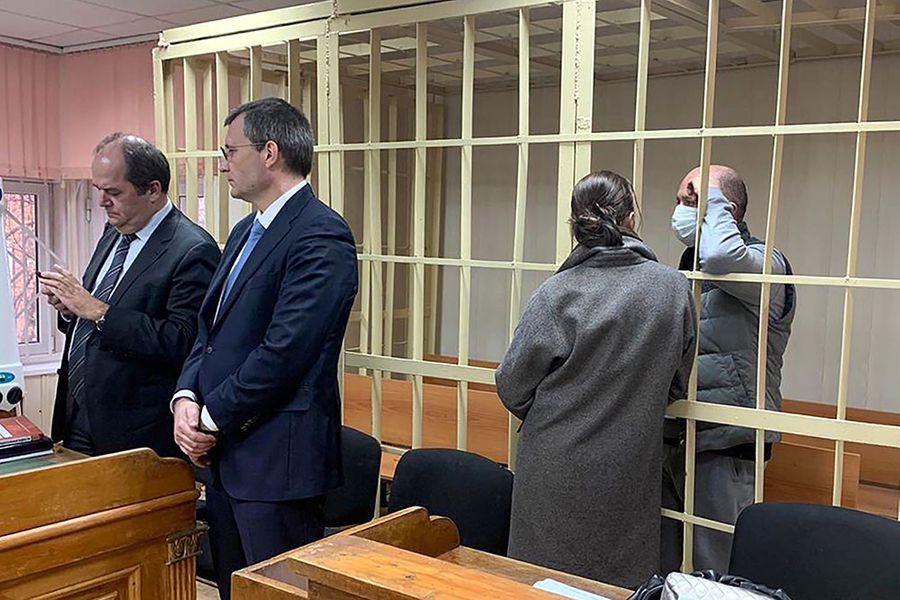 Денис Волчек. Фото © ТАСС / Пресс-служба Пресненского суда