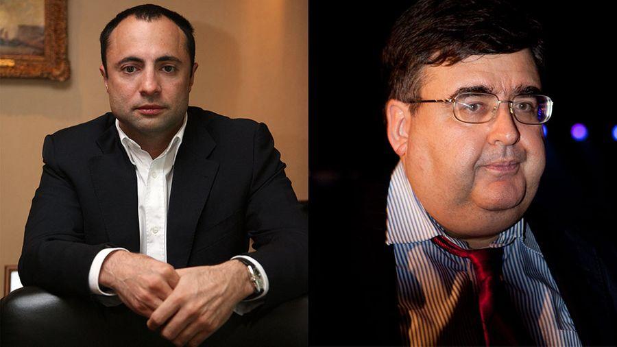 Ашот Егиазарян и Алексей Митрофанов. Фото © ТАСС / Ашот Егиазарян, Елизавета Клементьева