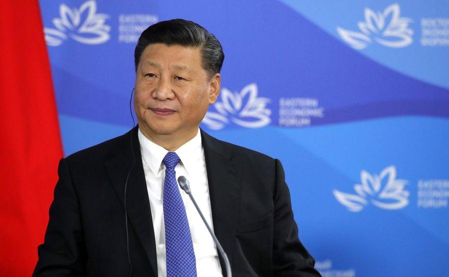 <p>Председатель КНР Си Цзиньпин. Фото © Kremlin.ru</p>