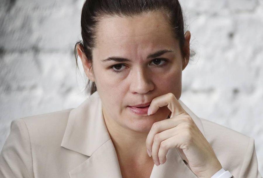 <p>Кандидат в президенты Белоруссии Светлана Тихановская. Фото © ТАСС / Валерий Шарифулин</p>